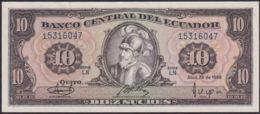 Ref. 830-1252 - BIN ECUADOR . 1986. ECUADOR 10 SUCRES 1986 - Ecuador