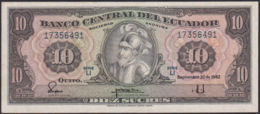 Ref. 828-1250 - BIN ECUADOR . 1982. ECUADOR 10 SUCRES 1982 - Ecuador