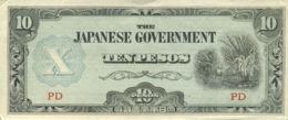 Ref. 522-918 - BIN PHILIPPINES . 1942. JAPAN OCCUPATION OF PHILIPPINES 1943 10 PESOS. JAPAN OCCUPATION OF PHILIPPINES 1 - Philippines