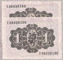 Ref. 161-263 - BIN SPAIN . 1948. 1 Peseta Spanish State 19th June 1948. 1 Peseta Estado Espa�ol 19 De Junio De 1948 - 1-2 Pesetas