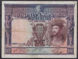 Ref. 108-4433 - BIN SPAIN . 1925. 1000 Pesetas Alfonso XIII - Carlos I. 1000 Pesetas Alfonso XIII - Carlos I - [ 1] …-1931 : Primeros Billetes (Banco De España)