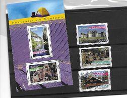 FRANCE 3703/3704/3707/3710/3711 Oblitérés Rond - Used Stamps