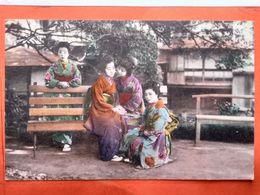 CPA.Japon. Groupe De Femmes Japonaises GAICHA -. (D1.736) - Other