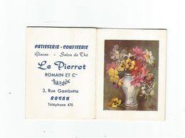 VP. 0710/ Calendrier Poche (8 Feuillets) 1960 - Publicité Le Pierrot - Pâtisserie - Confiserie à ROYAN (17) - Small : 1941-60