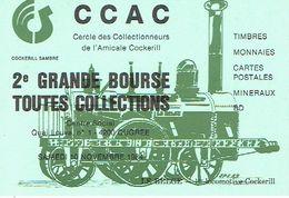 OUGREE 1984 - 2ème GRANDE BOURSE TOUTES COLLECTIONS - CERCLE DES COLLECTIONNEURS DE L'AMICALE DE COCKERILL - Beursen Voor Verzamellars