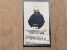 Doodsprentje Pater  Melsele. ,westmalle - Religión & Esoterismo