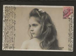 Enfant,child,kind,nino / Joli Portrait D'une Fillette,G.Reinwald ? - Portraits