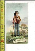 KL 5582 - RELIQUE - RELIKWIE - FRANCISCO- FATIMAE - Images Religieuses