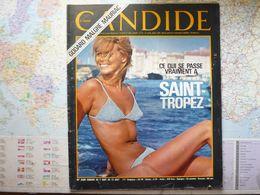 Candide N°328 7 Août 1967 Ce Qui Se Passe Vraiment à Saint-Tropez / Godard Malgré Mauriac / Brel / ... - Testi Generali