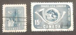 CANADA YT 298/299 OBLITÉRÉ ANNÉE 1957 - Used Stamps