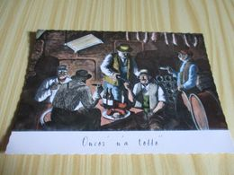 Saint-Lager (69).Cuvage De Brouilly - Goutillon Beaujolais. - Francia