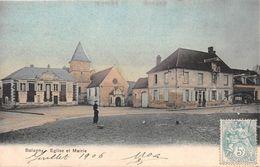 BALAGNY SUR THERAIN - Eglise Et Mairie - Other Municipalities