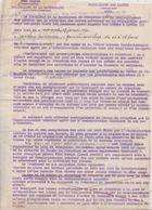 Ravitaillement 1940 / Réquisition Des Laines / Organisation Acheminement / 2 Toisons Pour Chaque Membre De La Famille - 1939-45