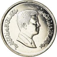 Monnaie, Jordan, Abdullah II, 10 Piastres, 2004, SPL+, Nickel Plated Steel - Jordanie