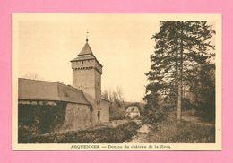 C.P. Arquennes = Donjon  Du  Château  De La ROCQ - Seneffe