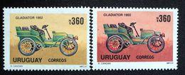 Uruguay 1991 Mnh - Variedad Variety Variete- Error Different Colour - Cachila Old Car Voiture Wagen Automovil - Yv 1371 - Uruguay