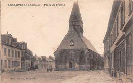 ANSAUVILLERS - Place De L'Eglise - France