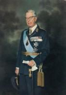 King Gustaf VI Adolf Swedish Royalty, C1960s Vintage Postcard - Royal Families