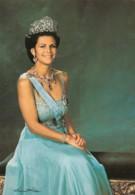 Queen Silvia Swedish Royalty, C1970s Vintage Postcard - Royal Families