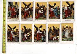 KL 5583 - KRUISWEG 14 STATIES - Images Religieuses