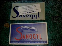 Vieux Papier Buvard Extra Dentifrice Sanogyl TBE - Papel Secante