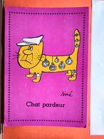 CP. Humour. Siné.Chat Pardeur. (D1.750) - Sine