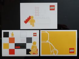 Lego Lot De 3 Carte Postale - Games & Toys