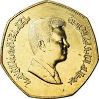 Monnaie, Jordan, Abdullah II, 1/4 Dinar, 2004, SPL+, Nickel-brass, KM:83 - Jordanie