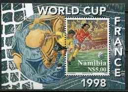 Namibia Mi# Block 42 Postfrisch/MNH - Football France 98 - Namibia (1990- ...)