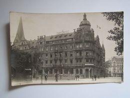 CARTE POSTALE PHOTO MILITAIRE Coblence Coblenz Koblenz Park Hôtel MESS-FRANÇAIS H.C.I.T.R Haute Commission Interalliée D - Koblenz