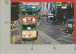 CARTOLINA VG HONG KONG - A Typical Hong Kong Streetscene - 10 X 15 - 1986 - China (Hong Kong)