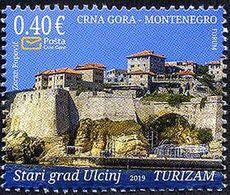 Montenegro - 2019 - Tourism - Old Town Ulcinj - Mint Stamp - Montenegro
