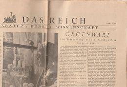 Das Reich - Journal - Berlin 15 Dezember 1940 - N30 - Literatur -Kunst- Wissenschaft - German