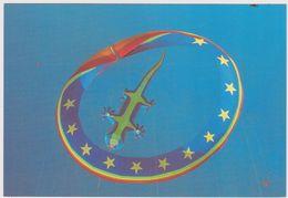 62 BERCK  -  9ème Rencontres Cerfs Volants Lezard  - CPM  9,5x14 TBE 1995 Neuve Photo Pascal Mores - Games & Toys
