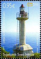 Montenegro - 2019 - Maritime - St. Nicholas Lighthouse - Mint Stamp - Montenegro