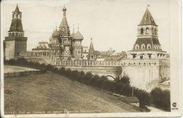RUSSIE - Moscou - Moscow - La Cathédrale De St Basile Vue Du Kremlin - Russia