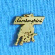 """1 PIN'S //  ** LOGO / LAMBORGHINI / LE """" TAUREAU """" SIGNE ASTROLOGIQUE DE SON FONDATEUR ** - Pins"""