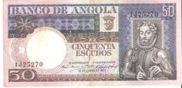 ANGOLA 50 Escudos 1973 - Angola