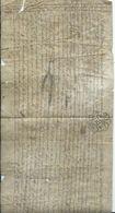 CACHET GENERALITE DE BORDEAUX Sur Parchemin 1782 - Seals Of Generality