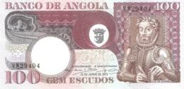 ANGOLA 100 Escudos 1973 - Angola