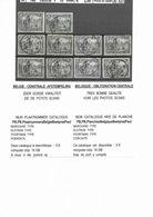 146 X 10 CACHET   CENTRAL - 1914-1915 Croix-Rouge