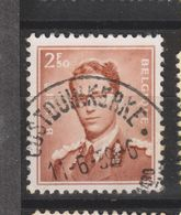 COB 1028 Oblitération Centrale OOSTDUINKERKE - 1953-1972 Lunettes