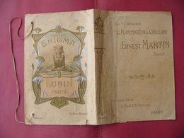 Protège Livre «Enigma» Publicité Couverture De Livre, Pour Le Parfum Enigma De La Maison Lubin Paris ART NOUVEAU - Livres, BD, Revues