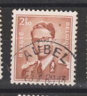 COB 1028 Oblitération Centrale AUBEL - 1953-1972 Lunettes