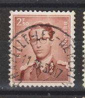COB 1028 Oblitération Centrale CHAPELLE-LEZ-HERLAIMONT - 1953-1972 Lunettes