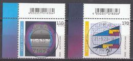 Bund - Neuheiten 2020  Mi. 3536-37 - Gestempelt - Gebraucht