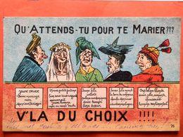 CPA. Qu'attends Tu Pour Te Marier ???Nozais.  (D1.760) - Humour