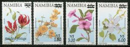Namibia Mi# 1009-12I Postfrisch/MNH - Flora - Namibia (1990- ...)