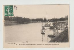 FRANCE / CPA / SAINT VALERY SUR SOMME / LE REMORQUEUR PICARDIE - Saint Valery Sur Somme