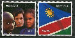 Namibia Mi# 1013-4 Postfrisch/MNH - Independence 10 Years - Namibia (1990- ...)